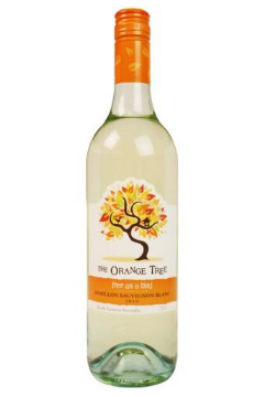 "The Orange Tree ""free as a bird"" Semillon Sauvignon Blanc"