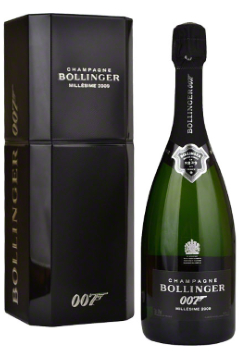 "Bollinger 007 Spectre ""DRESSED TO KILL"" Limited Edition Champagne"