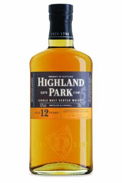 Highland Park 12 Year Old Single Malt Scotch Whisky